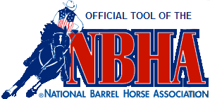 Official Tool of the National Barrel Horse Association